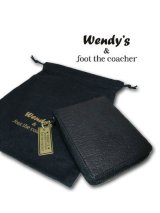Wendy's & FootTheCoacher/W RING ROUND WALLET