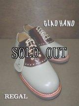 GLAD HAND×REGAL/サドルシューズ (コンビ)