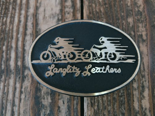 他の写真1: Langlitz Leathers/Brass Belt Buckle