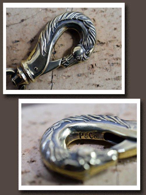 他の写真1: Peanuts&Co./horse wallet chain horse×hook brass