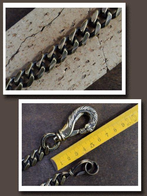 他の写真3: Peanuts&Co./horse wallet chain horse×hook brass