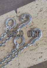 Peanuts&Co./horse hook chain  all silver round or square