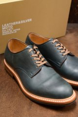 MOTO/PLAIN TOE OXFORD SHOES(ネイビー)