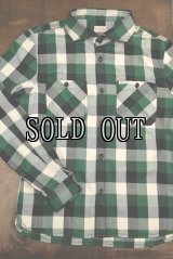 THE FLAT HEAD/FH BLOCK CHECK CHECK LONG SLEEVE SHIRT