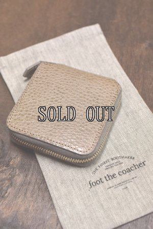 画像1: foot the coacher/SQUARE WALLET SMALL