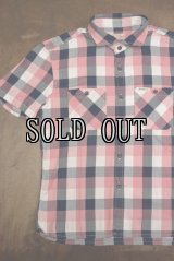 THE FLAT HEAD/FH BLOCK CHECK S/S SHIRTS