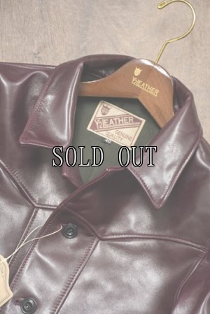 画像2: Y'2 LEATHER/ANILINE HORSE SPORTS JACKET