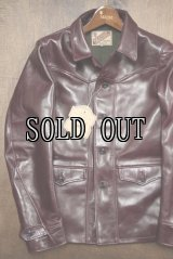 Y'2 LEATHER/ANILINE HORSE SPORTS JACKET