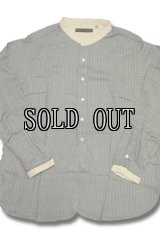 FULL COUNT/RAYON FLANNEL BAND COLLAR SHIRTS