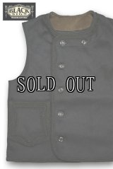 BLACK SIGN/19th Century Amish Laced Vest