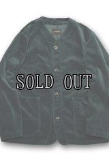 DELICIOUS/CORDUROY COLLARLESS BLOUSON