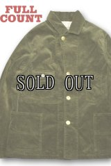 FULL COUNT/CORDUROY COVERALL JACKET