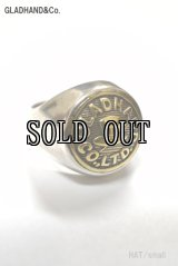 GLAD HAND&Co./BUTTON RING(HAT Small)