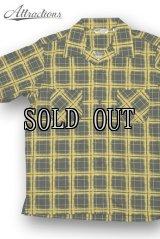 "ARTtraction SPORTOGS/S/S Cotton Shirts""SPRAY BLOCK"""