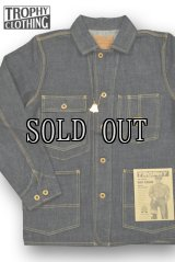TROPHY CLOTHING/DIRT DENIM COVERALL