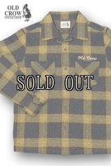 OLD CROW/SPEEDWAY-L/S CHECK SHIRTS