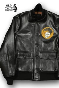 OLD CROW/THIRTEEN CROWS-A1 TYPE JACKET