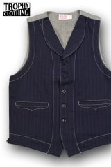 TROPHY CLOTHING/MODERN TIMES WAISTCOAT