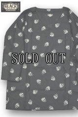 BLACK SIGN/Skull Dots Pullover Shirt