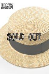 TROPHY CLOTHING/BOATER HAT
